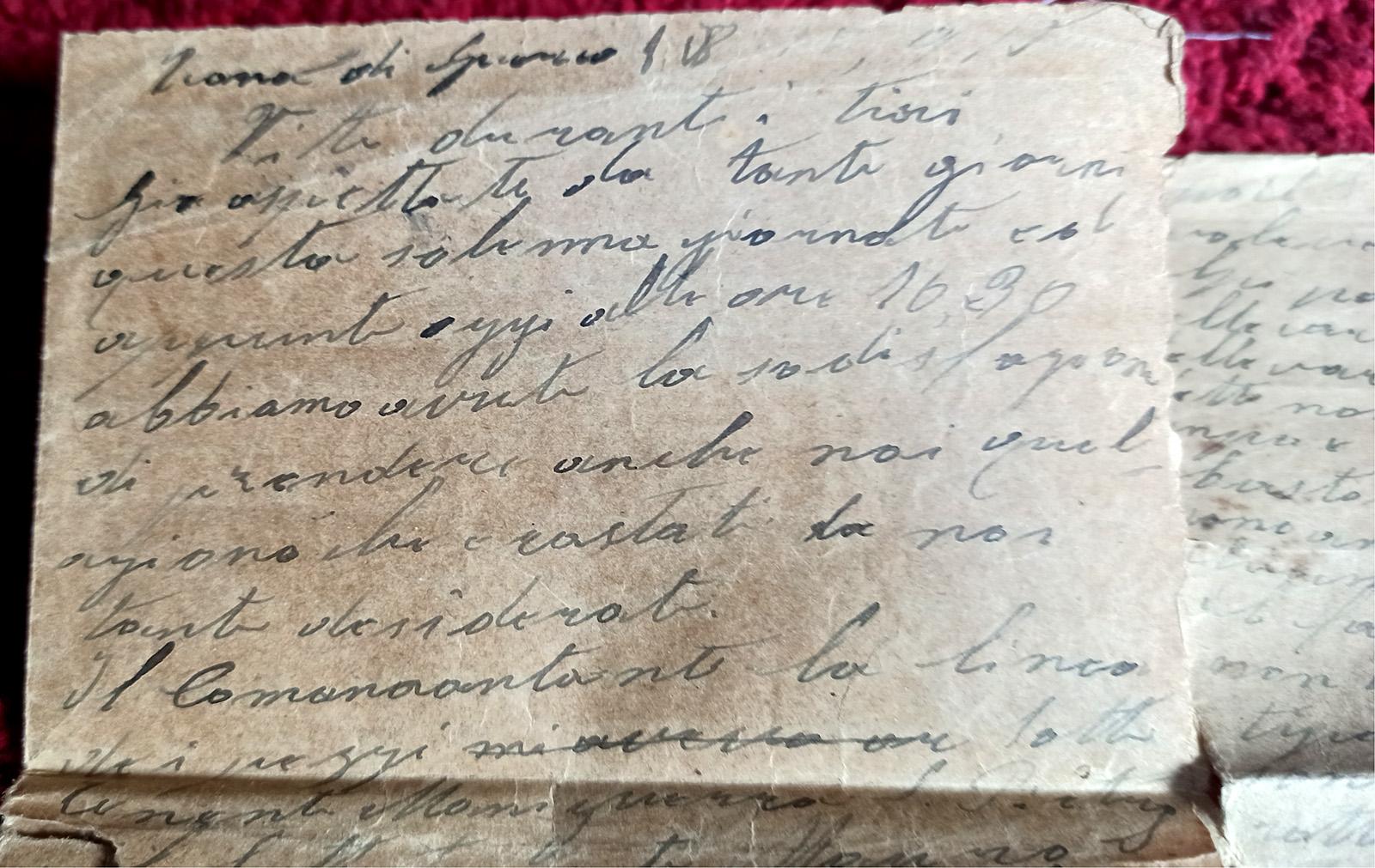 Diario di Guerra di Leopoldo Santagata