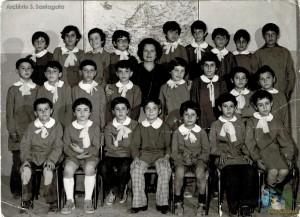 """A.S. 1975-76 – Classe 3A – Scuola Elementare """"C. Collodi"""" – Villa di Briano (CE)"""