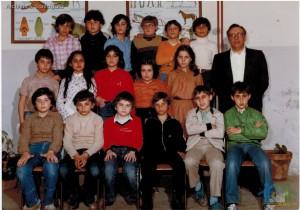 """A.S. 1979-80 – Classe 5A – Scuola Elementare """"C. Collodi"""" – Villa di Briano (CE)"""