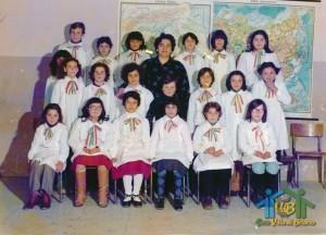 """A.S. 1977-78 – Classe 5? – Scuola Elementare """"C. Collodi"""" – Villa di Briano (CE)"""