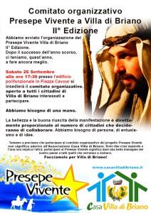 Insediamento comitato organizzativo Presepe Vivente 2015