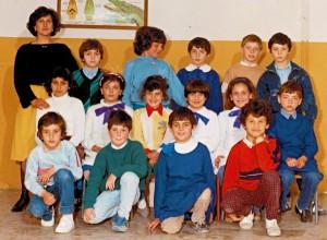 """A.S. 1985-86 – Classe 4C – Scuola Elementare """"C. Collodi"""" – Villa di Briano (CE)"""