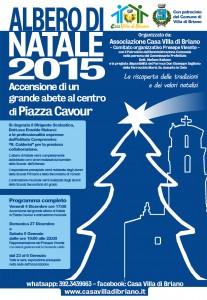 Accensione Albero di Natale in Piazza: Venerdi 4 Dicembre ore 16:30