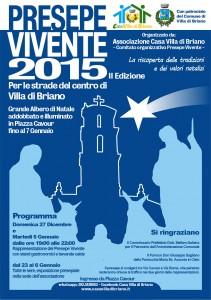 Presepe Vivente 2015/2016 a Villa di Briano: tutte le info!