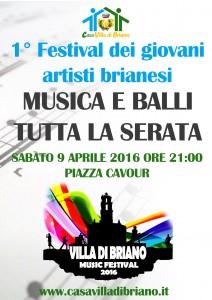 Festival dei nuovi talenti brianesi – Canti e Balli