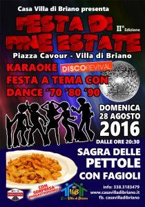 Festa di fine estate 2016 – Sagra Pettole e Fagioli